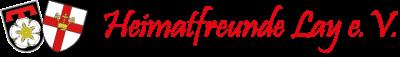 Heimatfreunde Lay e.V. Logo